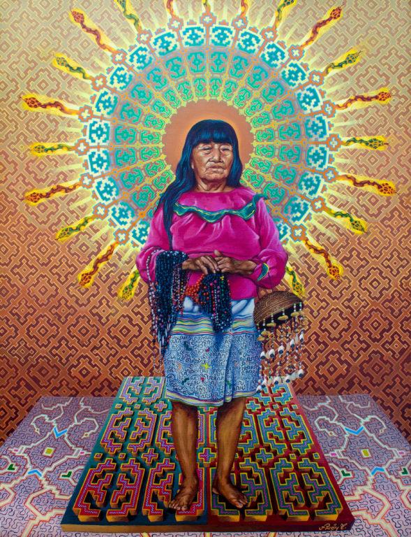 Fredy Tuanama Guerra_ pintura