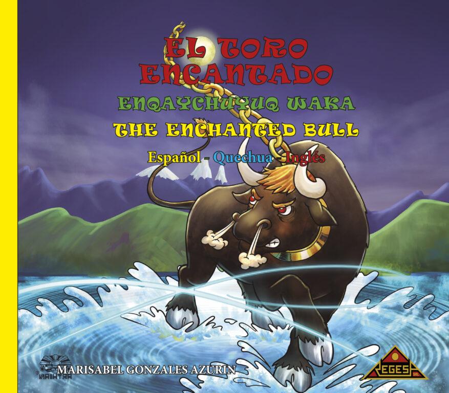 El Toro Encantado CARATULA  Español - Quechua - Inglés.indd